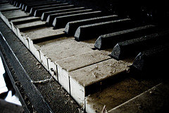 Neglected pianos are sometimes beyond repair